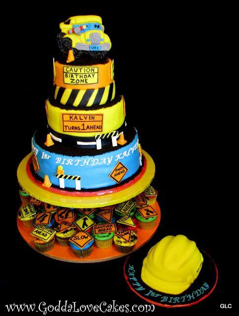 Godda Love Cakes Construction Pal Cake Baby Shower