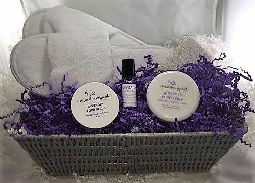 """Take care of your feet and your feet will take care of you!    The """"Nourish Your Sole"""" spa gift set is a perfect way to relax and ease away the stress of the day.  A great gift for moms, wives, friends, athletes, basically anyone with feet!   NaturallyInspiredScents.com"""