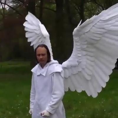 Shop Now>>Halloween 3D Angel Devil Big Wings