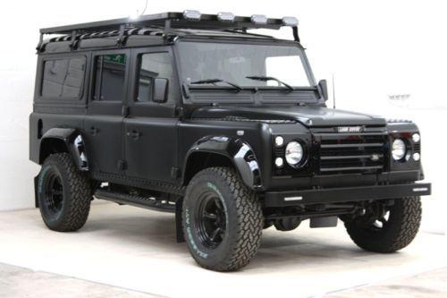 Land Rover Defender D All Black 1100 Dot EPA Compliant
