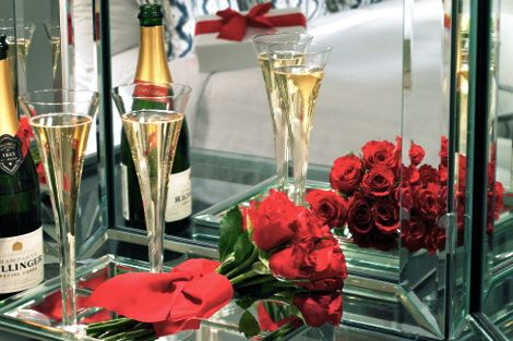 Romance with bubbly