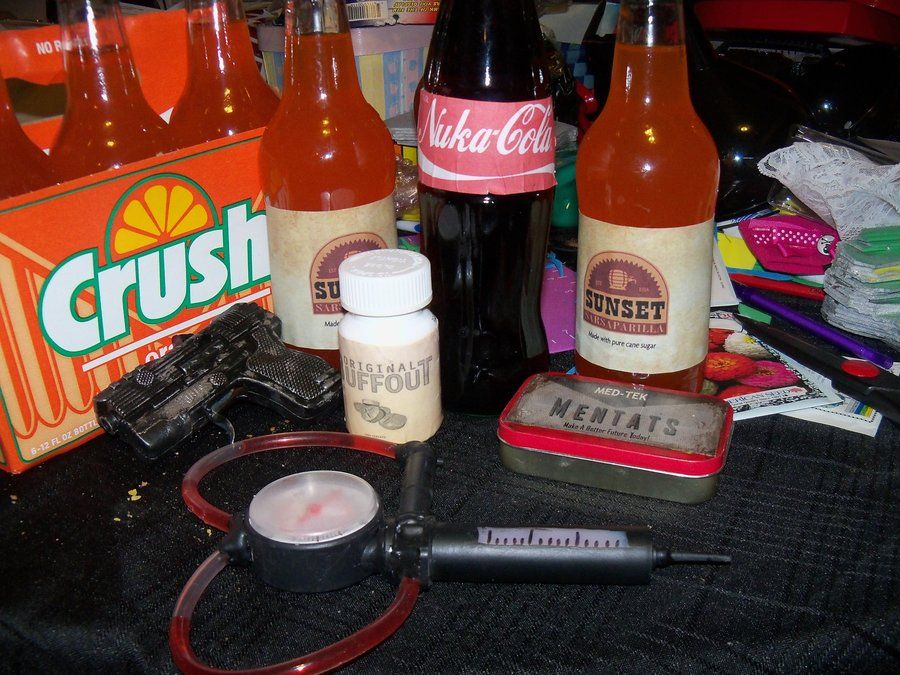 Fallout Party props by ~nerdkink on deviantART