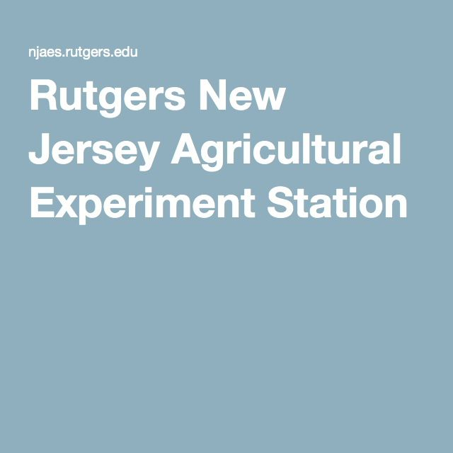 RUTGERS UNIVERSITY Cooperative Extension - New Jersey Agricultural Experiment Station - Home, Lawn & Garden: Rutgers NJAES.  Whether in an urban, suburban or rural landscape, tending the home or garden comes with a number of challenges involving insects, weeds, trees, shrubs, turf and critters. New Jersey residents spend significant time and money coping with these challenges--but not alone, thanks to the vast array of services offered by Rutgers New Jersey Agricultural Experiment Station