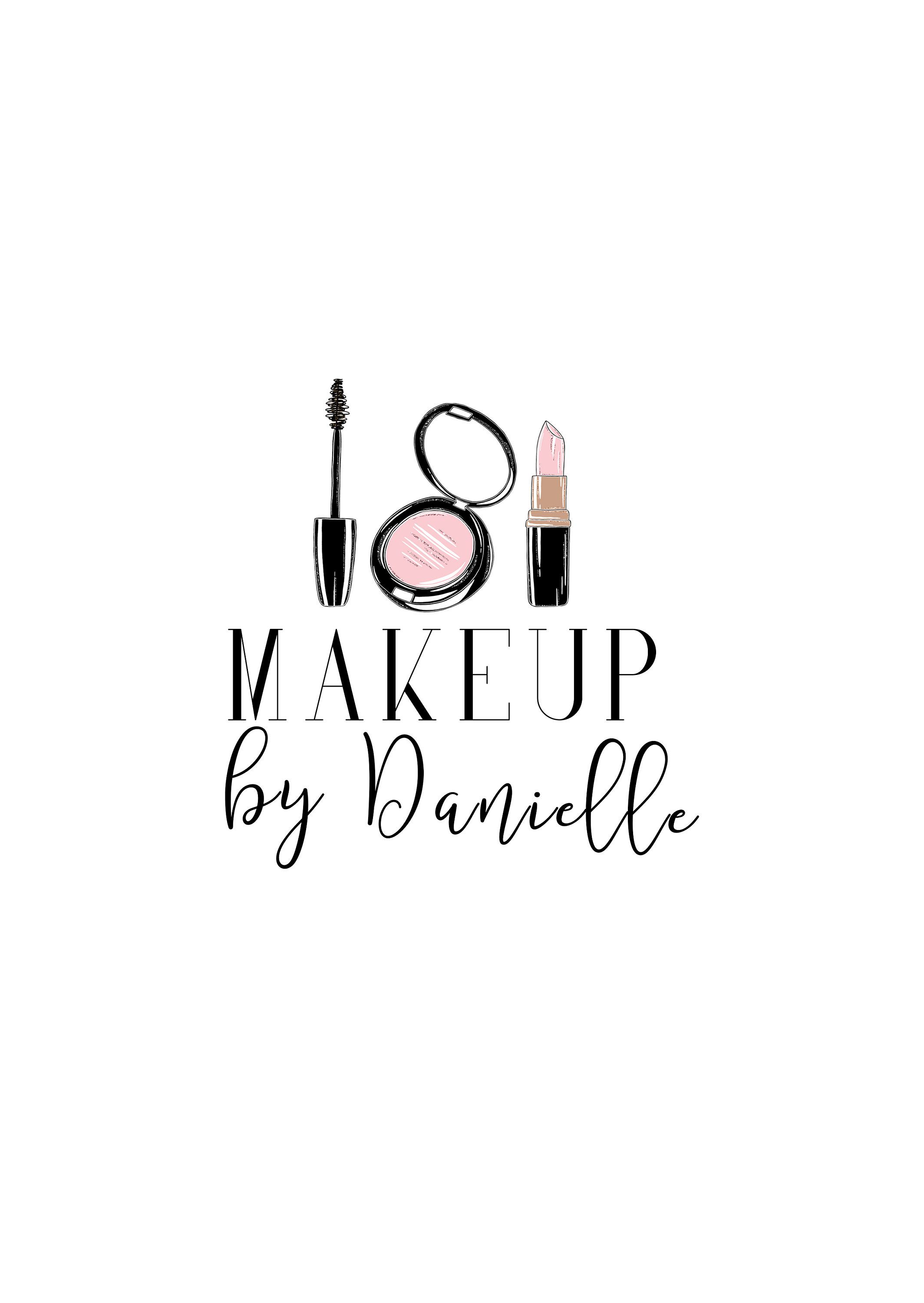 Makeup Logo, Beauty Blogger Logo, Makeup Artist Logo