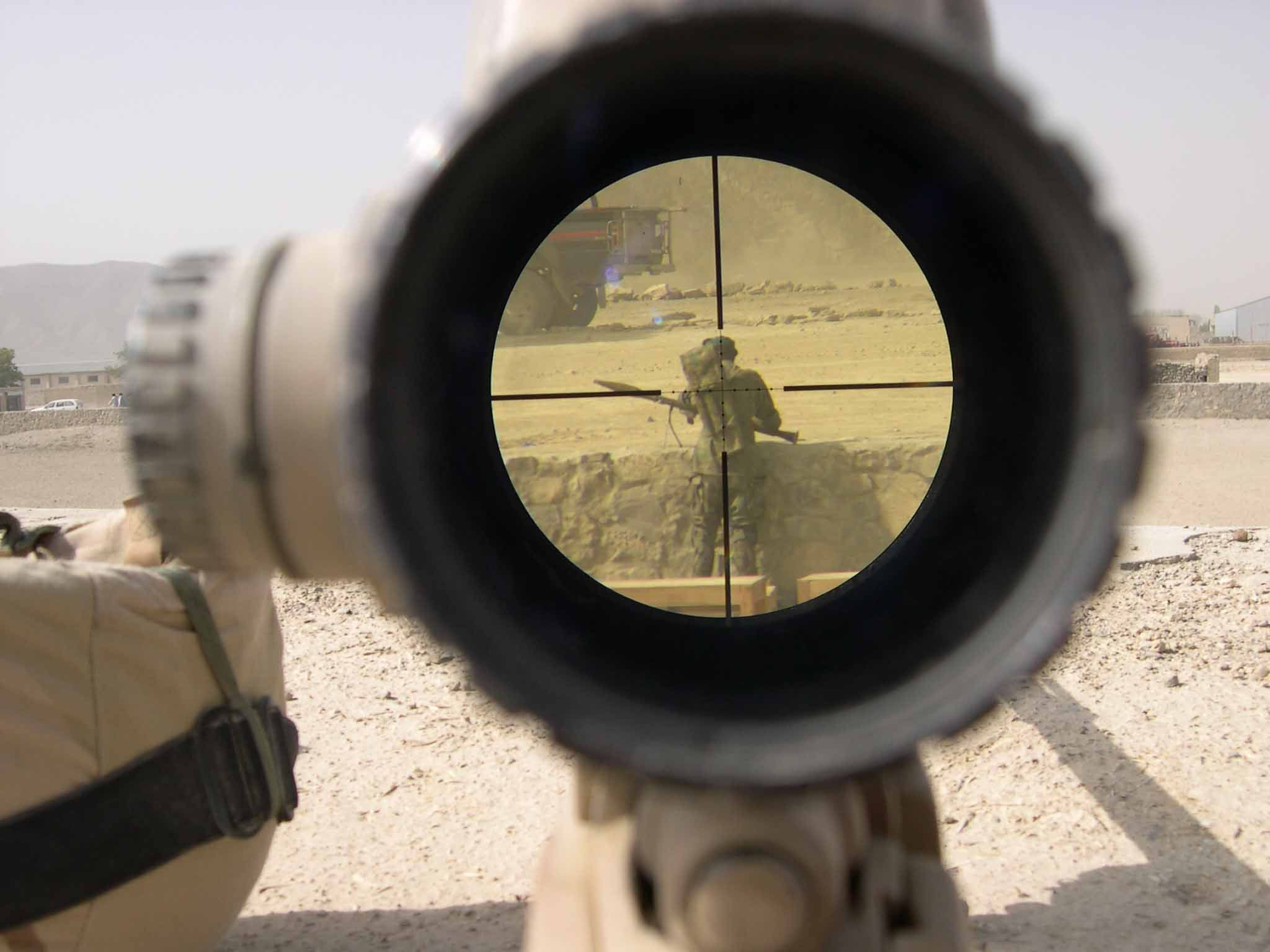 Hd Desktop Wallpaper scope sol rs military sniper rifles