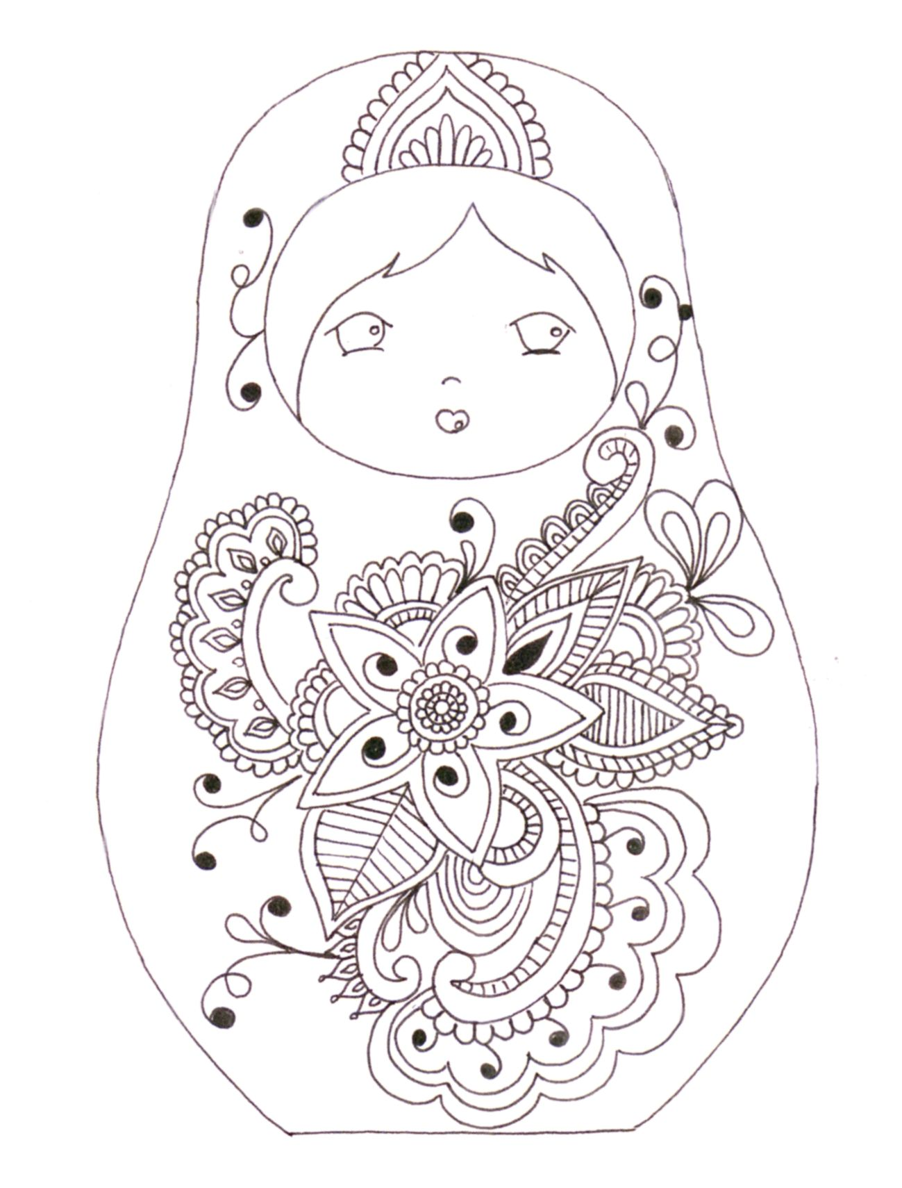 Pin by ewa on zentangle pinterest embroidery dolls and adult