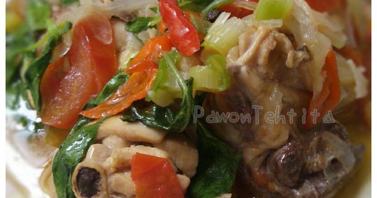 Resep Ayam Masak Kemangi Sumber Lestariweb Oleh Tita Chairinisa Pawon Tehtita Resep Resep Ayam Memasak Resep Makanan