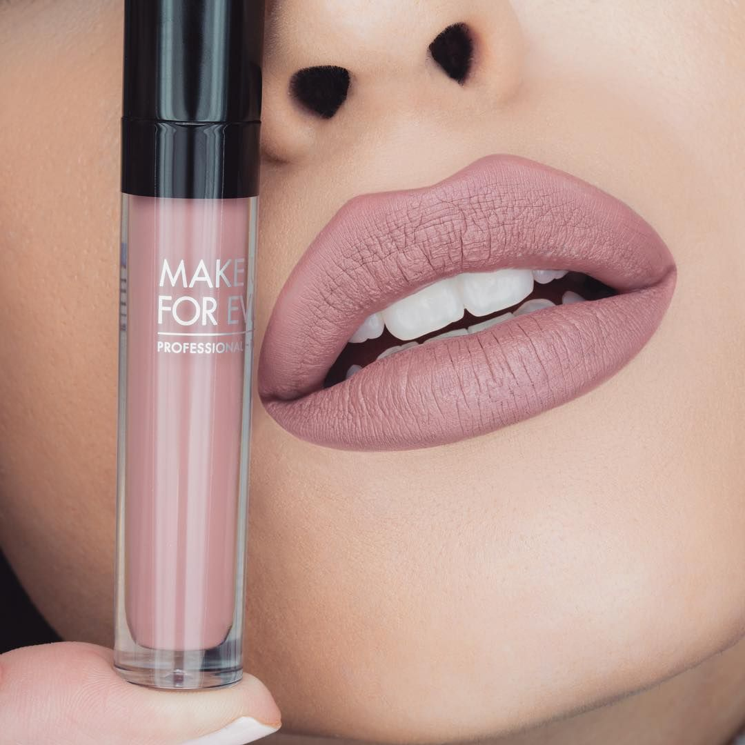 """463 Likes, 9 Comments - H Α R LW (@jessicaharlow) on Instagram: """"I was a """"lip model"""" for a day! Lol @makeupforeverus Artist Liquid Matte in shade 105. """""""