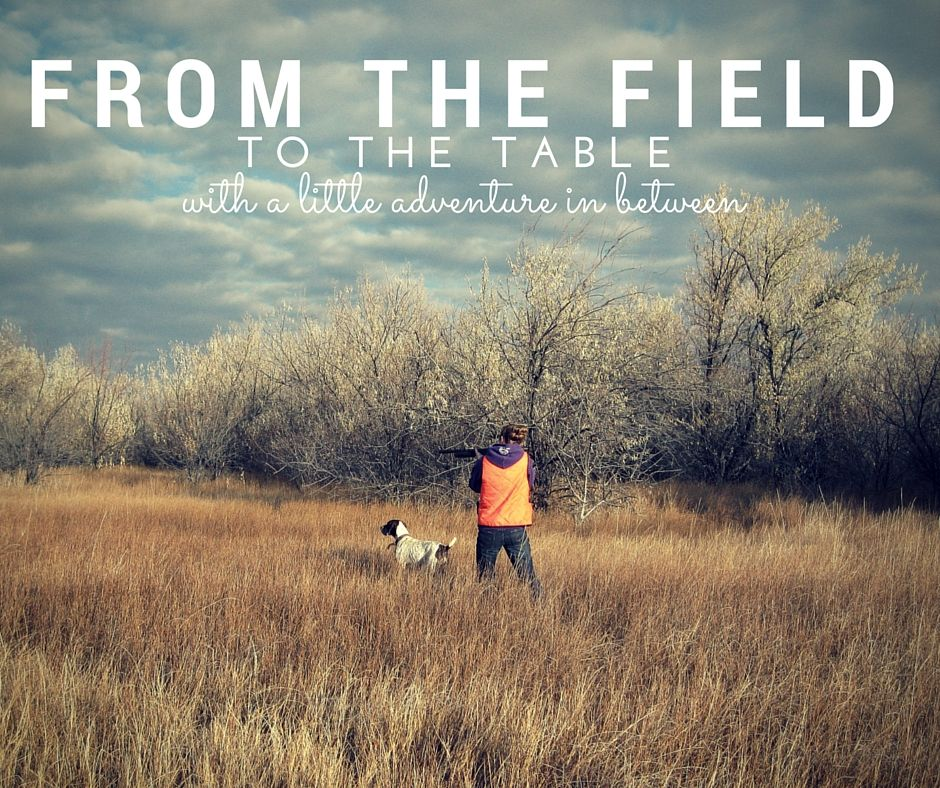 From the field to the table, with a little adventure in