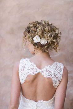 natural curly wedding hair - Google Search | *Wedding Ideas ...