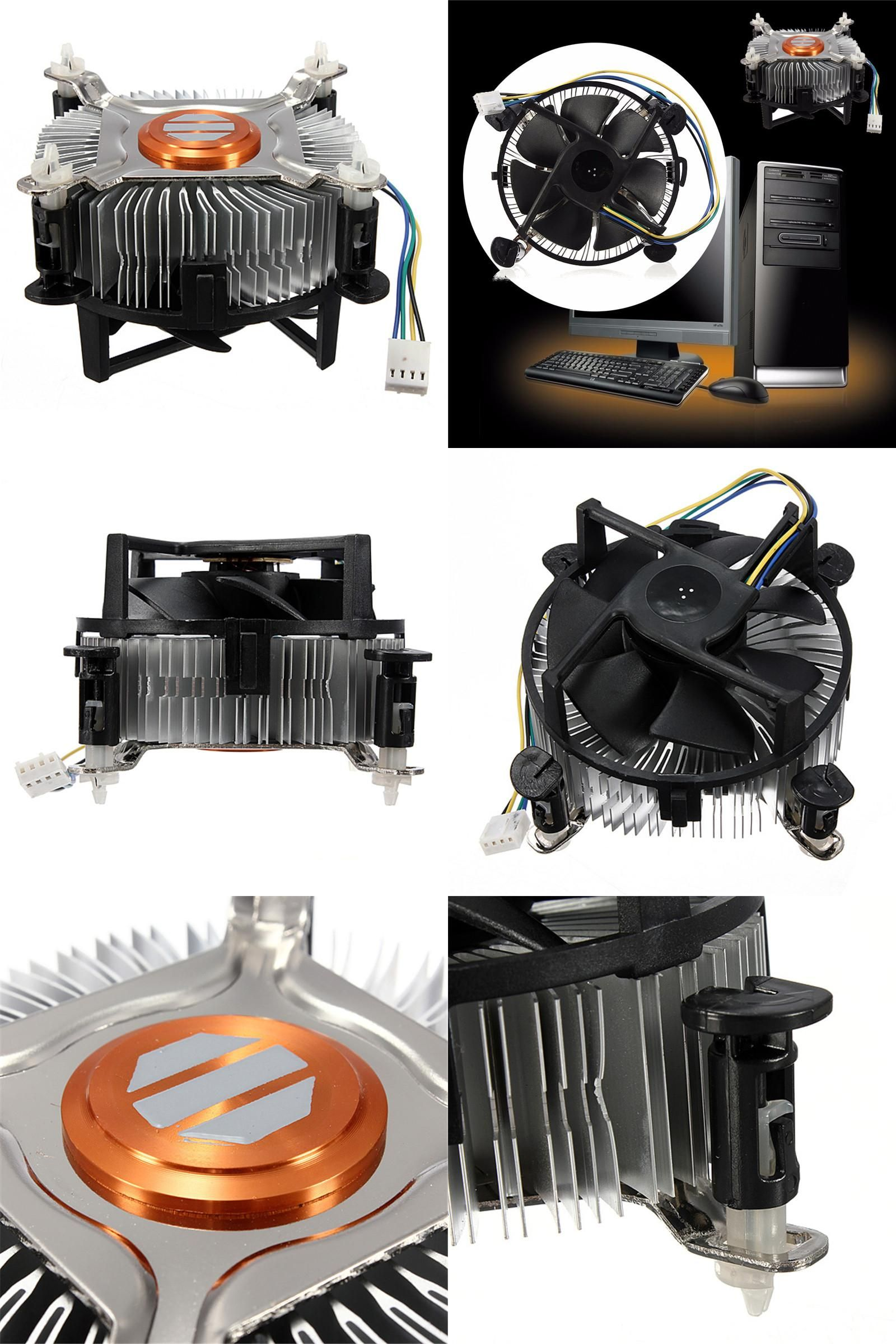 Visit To Buy High Quality Pc Cpu Cooler Cooling Fan Heatsink For