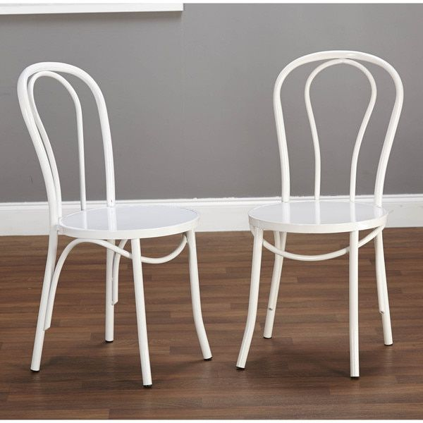 Add A Quaint Touch Of Charm To Your Breakfast Nook Or Dining Room With This  Elegant Vintage Inspired Cafe Chair Set From Simple Living.