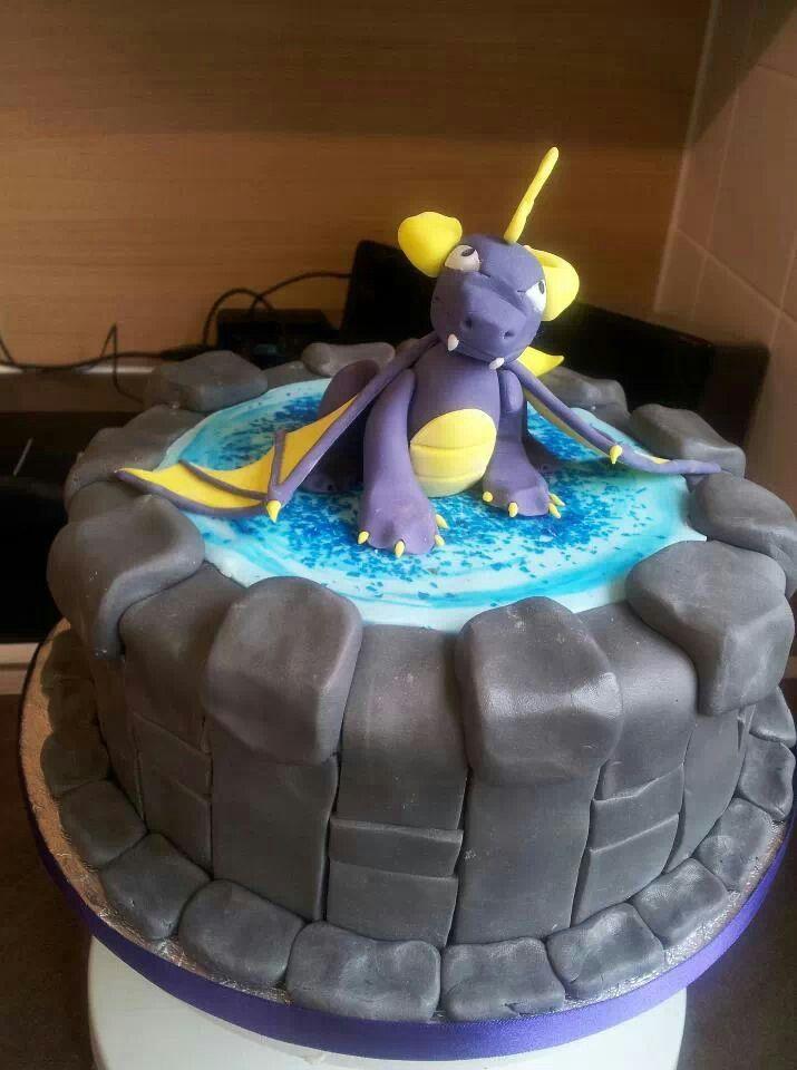 Spyro Skylanders Cake My Cakes Pinterest