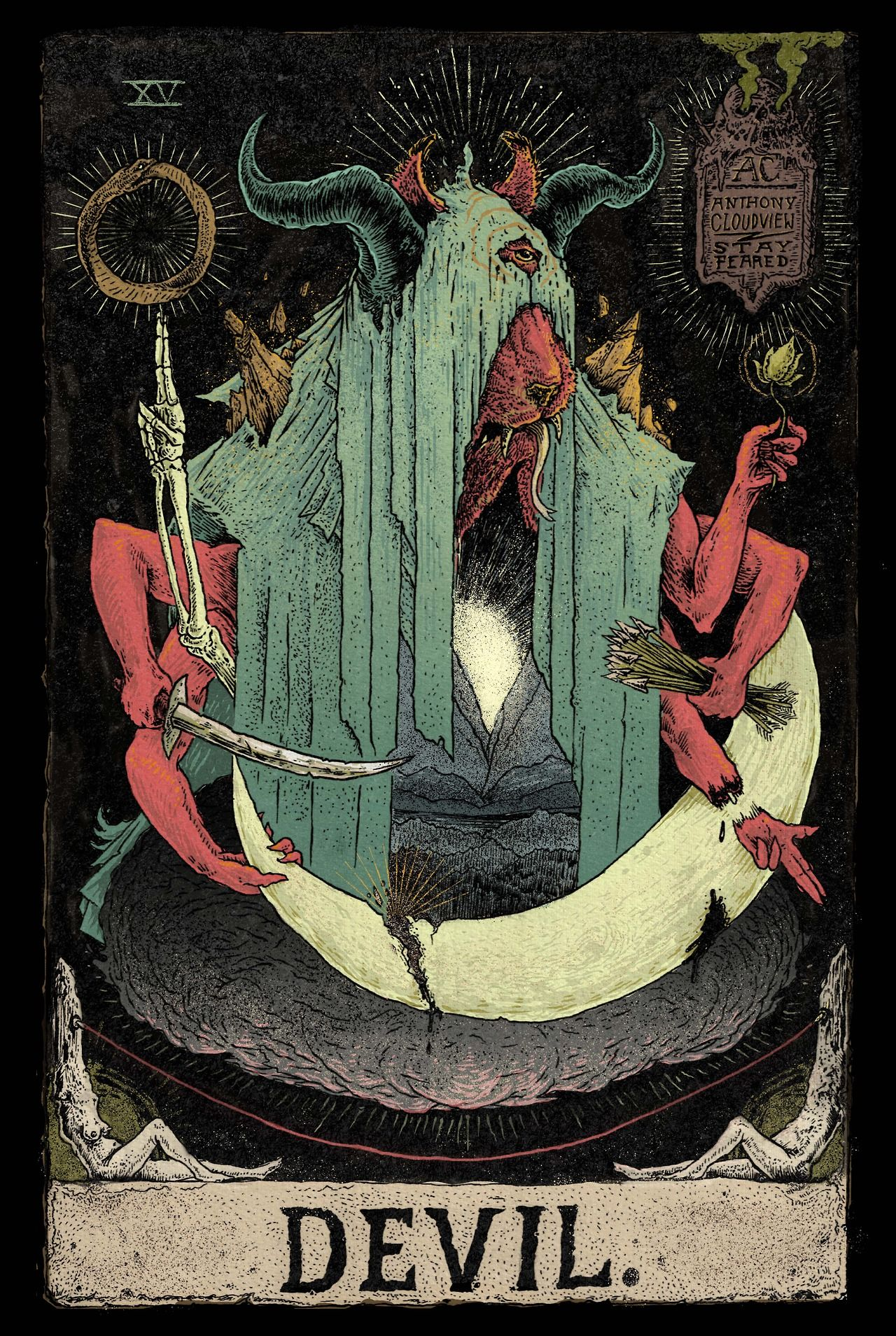 Capricorn is the devil in tarot