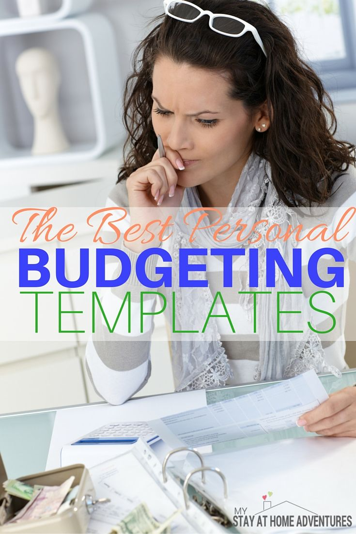 looking for the best personal budgeting templates online