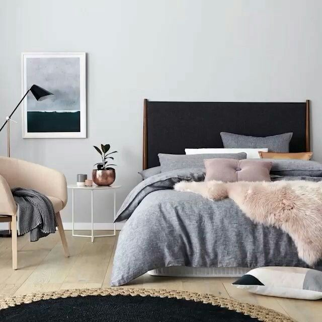 Tan Floor Like Your Room Could Mimic This Look Easily Bedroom