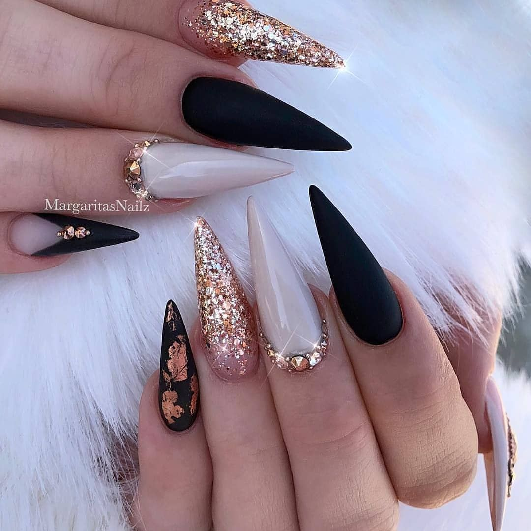 Madumoiselle t nails on instagram ucblack matte your favorite