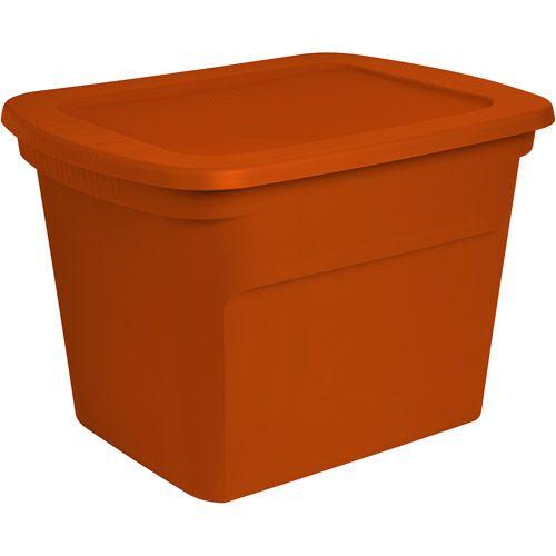 Sterilite 18 Gallon 72 Quart Storage Box Set Of 6 Walmart Com Sterilite Holiday Storage Tote Storage