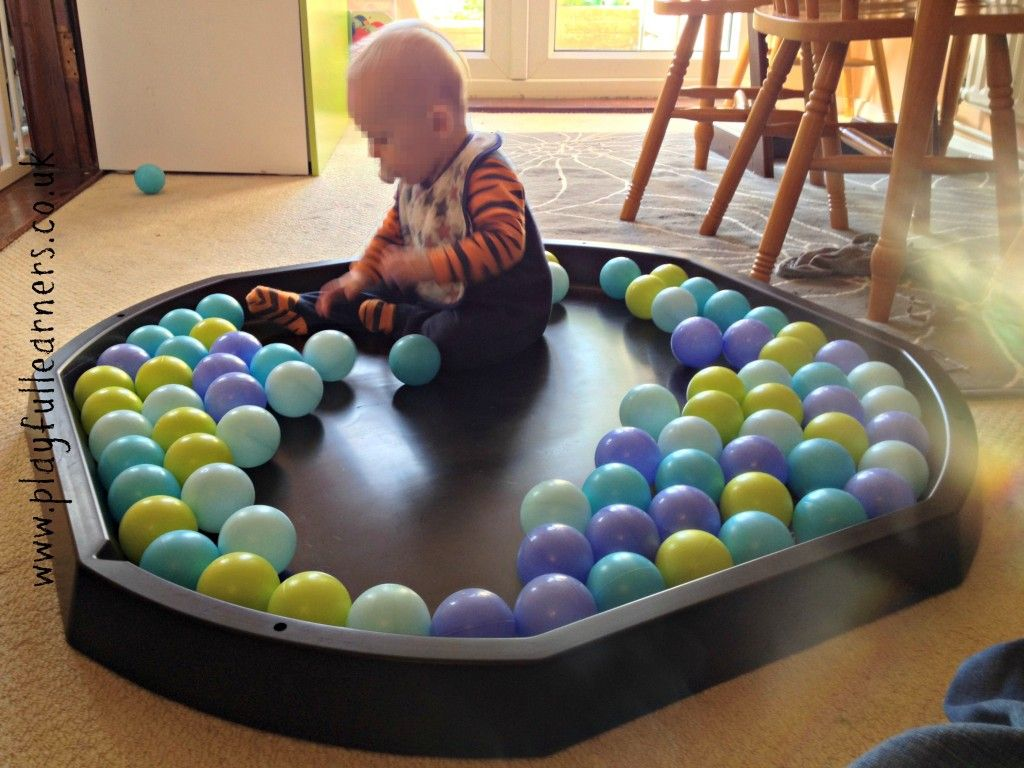 Tray Decoration For Baby Fair Baby Ball Play In An Active World Tuff Spot Tray  Tuff Spot Ideas Design Ideas