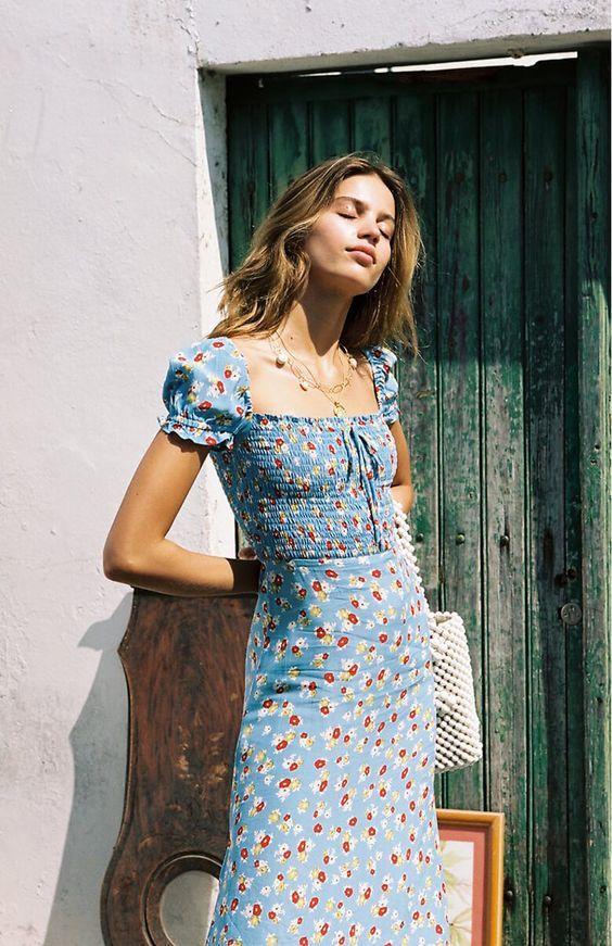 10 vestidos con flores para verano que no te harán ver gordita  – Moda
