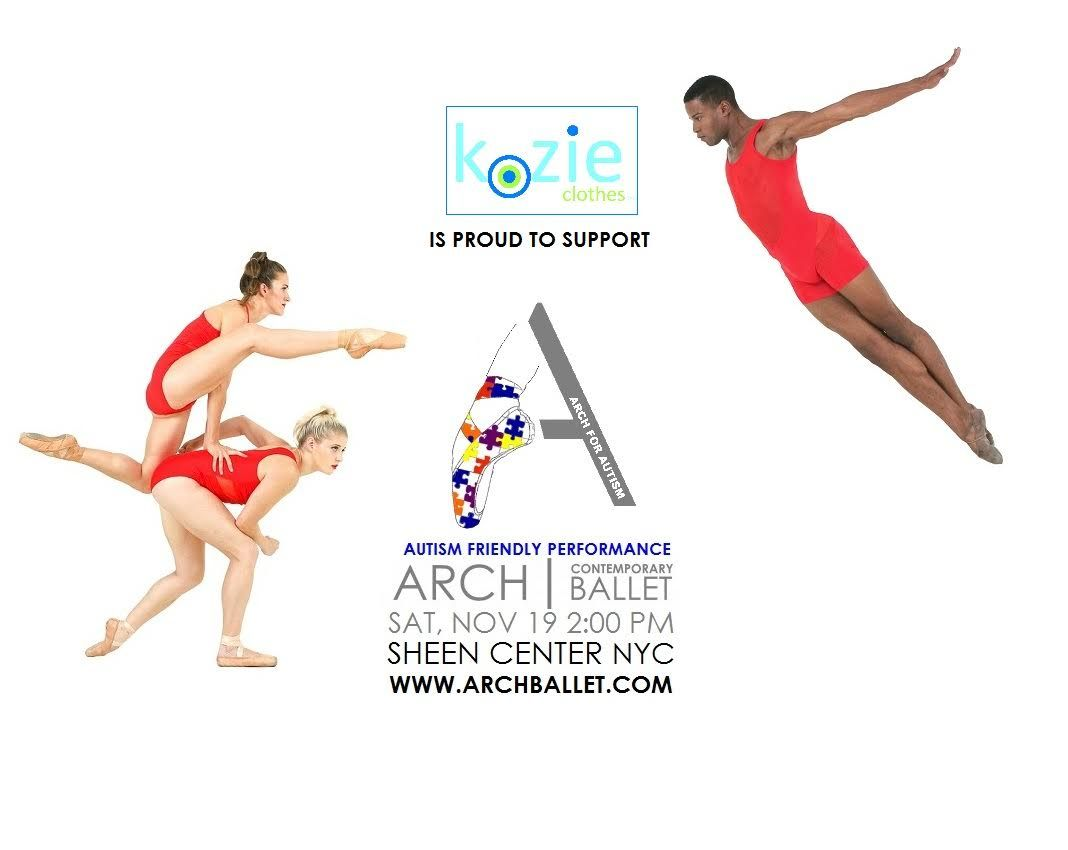Kozie Is A Proud Sponsor Of Arch Contemporary Ballet Arch