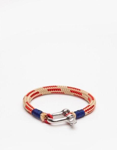 rope + hardware bracelet