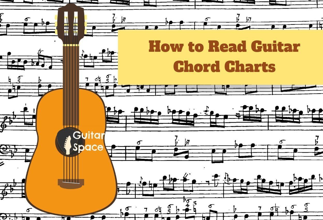 How to read guitar chord charts guitar space guitar