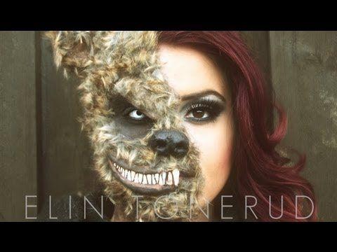 Evil Teddy Bear Costumemake Up Idea Halloween 14 Bunny