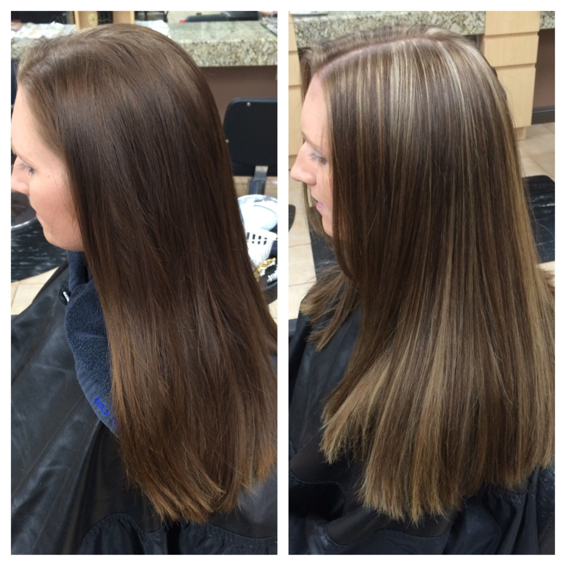 My Client Is A Natural Blonde I Have Been Coloring Her A Darker