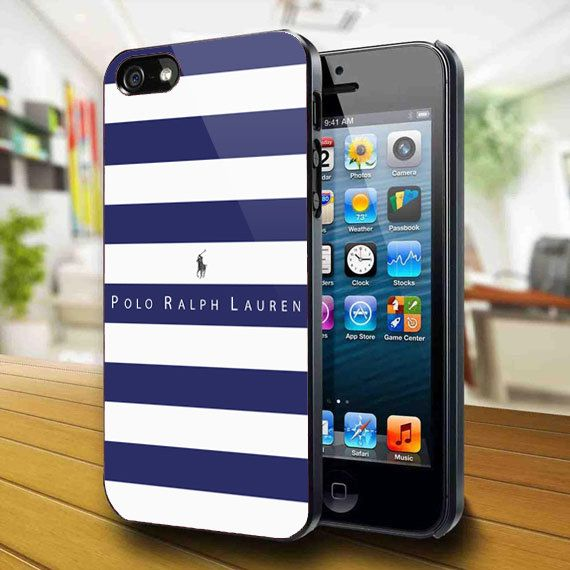 Polo Ralph Lauren Blue Striped iphone case