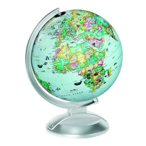 Replogle Globe Kids Illuminated Blue Childrens Globe House Of - World globe map for kids