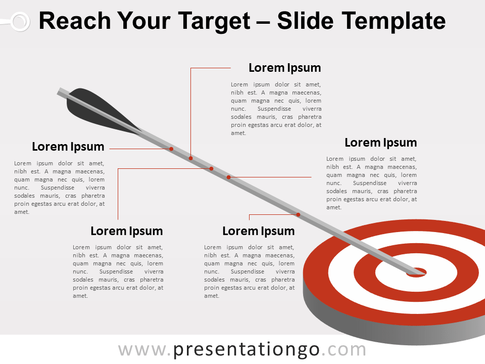 Reach Your Target Template for PowerPoint and Google