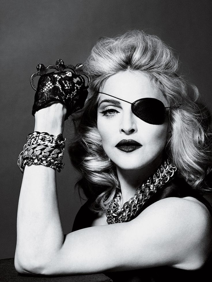 Madonna by Mert  Marcus for Interview May 2010 | Fashion Gone Rogue: The Latest in Editorials and Campaigns