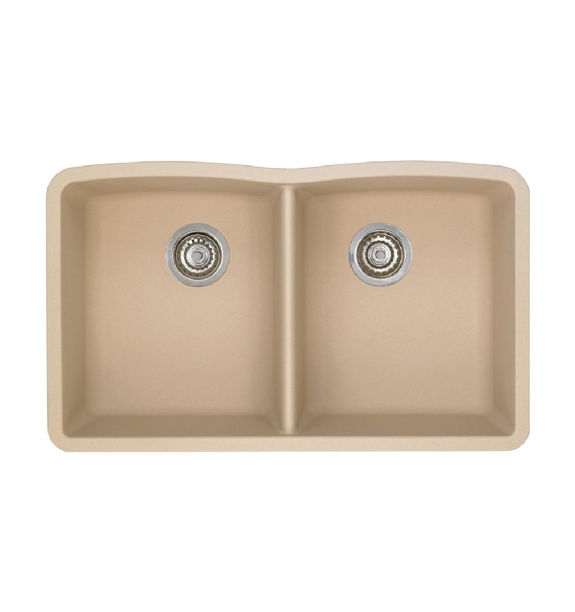 Best Blanco 441223 Diamond Silgranit Ii Equal Double Bowl 400 x 300