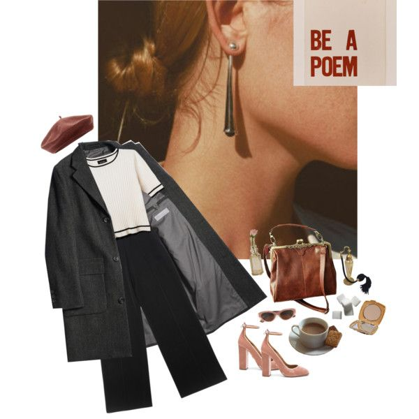 dame lumineuse by maraiko on Polyvore featuring Monki, Yves Saint Laurent, Aquazzura, Accessorize, RetroSuperFuture, Cultural Intrigue, vintage, Chanel, french and velvet