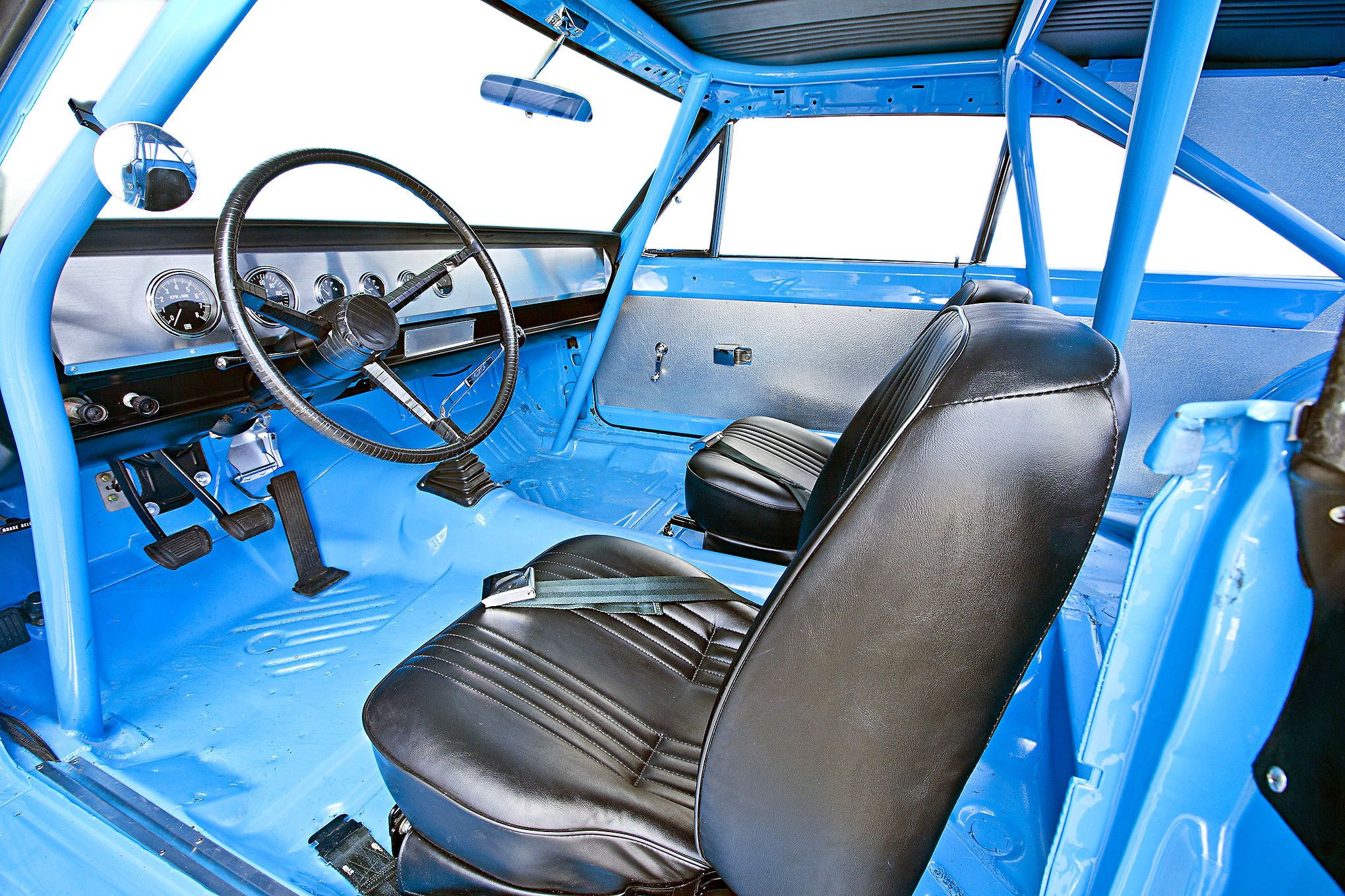 Nice Stripped Down Interior Richard Petty S Street Legal 650hp 1967 Plymouth Belvedere Tribute Plymouth Belvedere Plymouth Nascar Race Cars