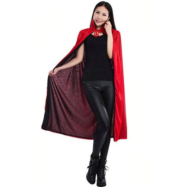 Black Red Head Halloween Death V&ire Magician Womens Costume (5.085 CLP) ? liked on  sc 1 st  Pinterest & Black Red Head Halloween Death Vampire Magician Womens Costume ...