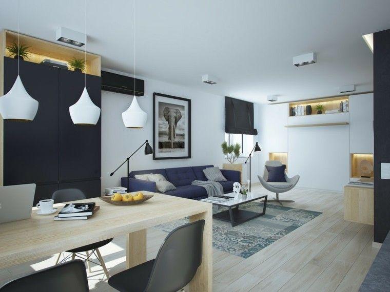 Salon Comedor De Diseño | Diseno Elegante En El Salon Comedor Moderno Arquitectura