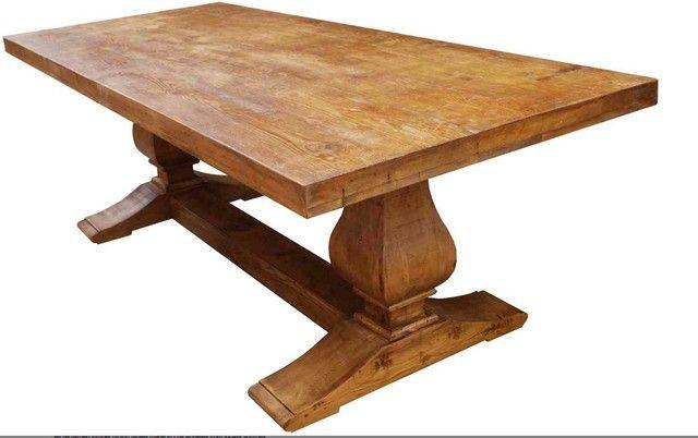 Awesome Custom Made Trestle Table  Approx. 17u0027