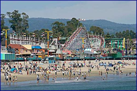Summer S Santa Cruz Beach Boardwalk