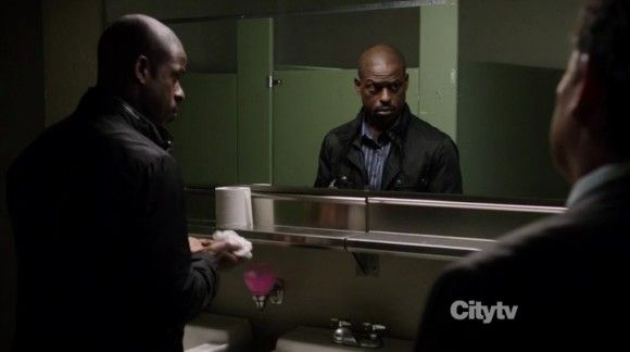 person of interest cal beecher sterling k brown surveilance