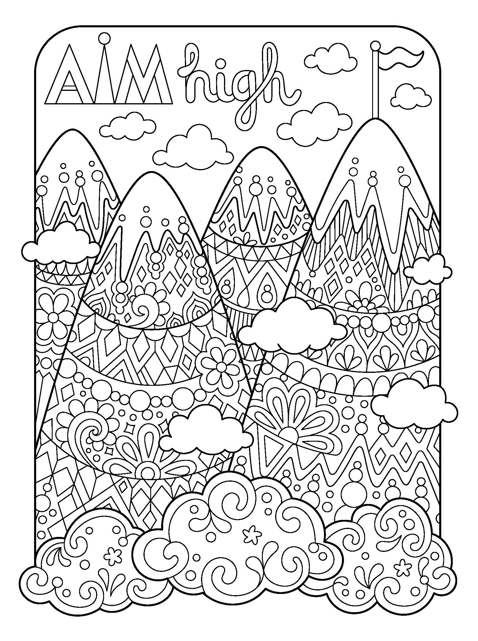 Amazon.com: Live for Today Coloring Book (Coloring is Fun ...