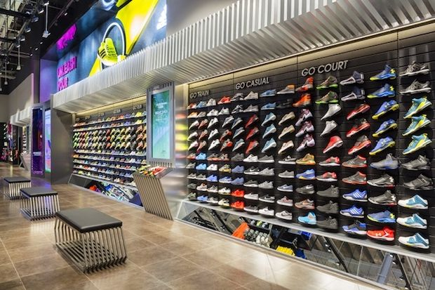 Sport In Street Ozdilek by Ayhan Güneri Architect, Istanbul – Turkey »  Retail Design Blog | Store Design | Pinterest | Retail, Store design and  Store