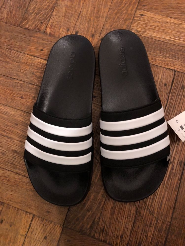3409ce1ecaa1 ADIDAS ADILETTE SHOWER SLIDES - Navy Blue White - Men s Size 10  fashion   clothing  shoes  accessories  mensshoes  sandals (ebay link)