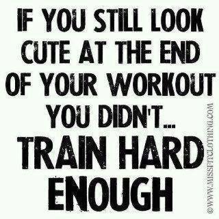 Si al final del entrenamiento sigues luciendo bien no hiciste suficiente!