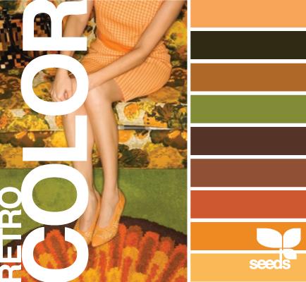 Retro Colors 1960 S 1970 S Avocado Harvest Gold Burnt Orange Retrohomedecor Retro Color Palette Retro Color Orange Color Palettes