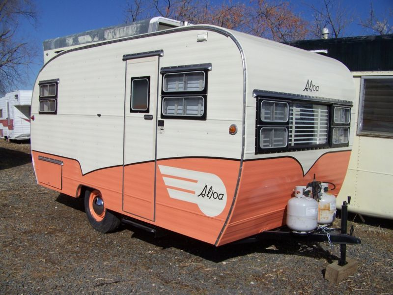 Restored Vintage Travel Trailer Professionally Restored Vintage