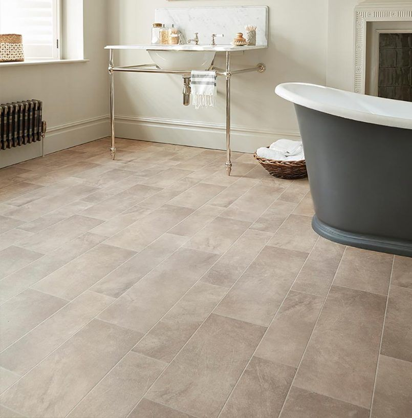 pinnicola marsh on bathroom floor  bathroom lino