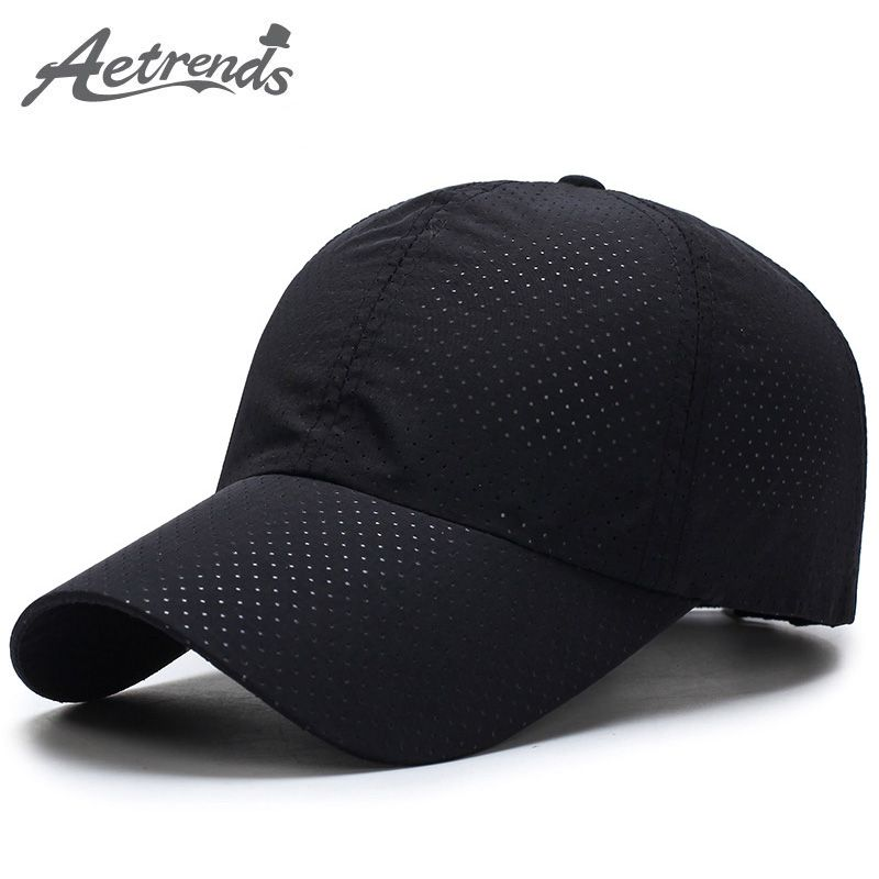 2654dfa3159 Men Women 2017 Summer Snapback Quick Dry Mesh Baseball Cap Sun Hat Bone  Breathable Hats Z-5109