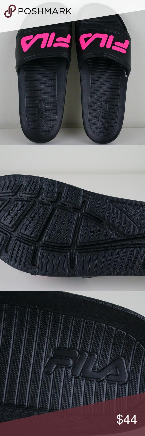 86bff41c3c47 Size 10 · Athletic · Fila Sleek Slide LT Mens Sandals Flip Flops Brand New